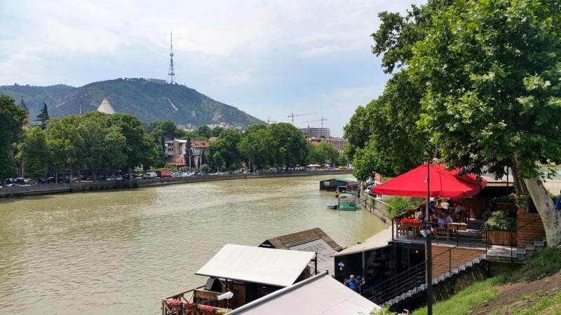 Вид на реку Кура