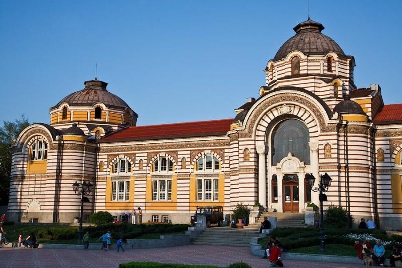 Центральная минеральная баня в Софии