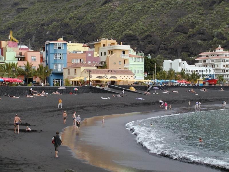 Один из пляжей города