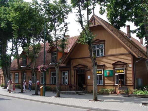 Старинная аптека в Паланге