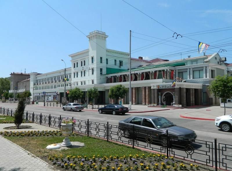 Прогуливаясь по городу Керчь