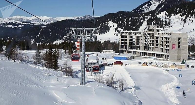 Строительство курорта