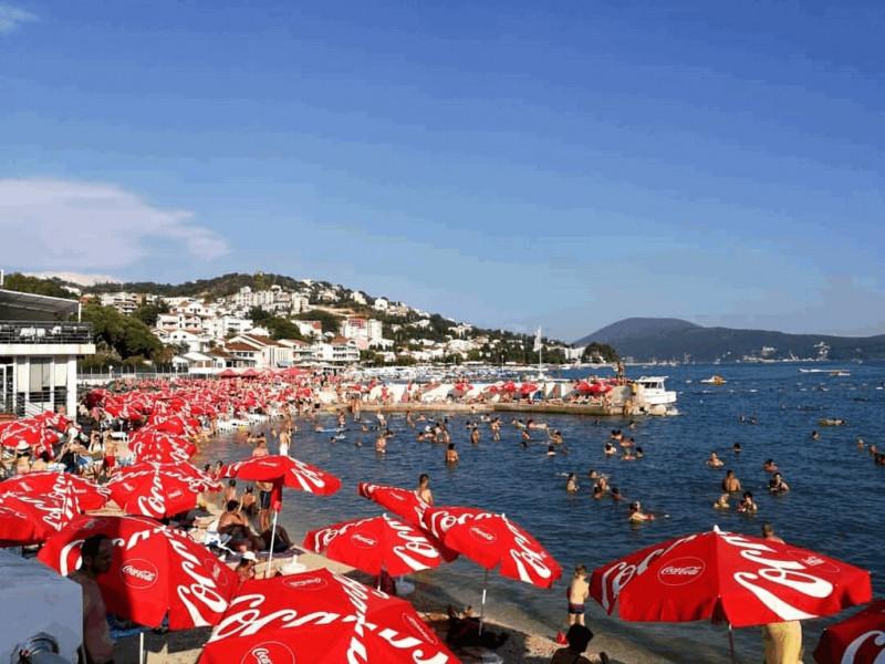 Главный пляж города