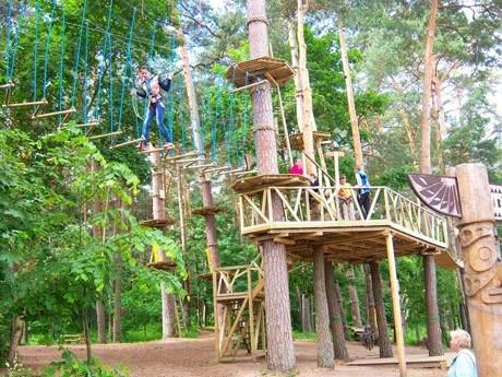 Парк развлечений Uno в Каунасе