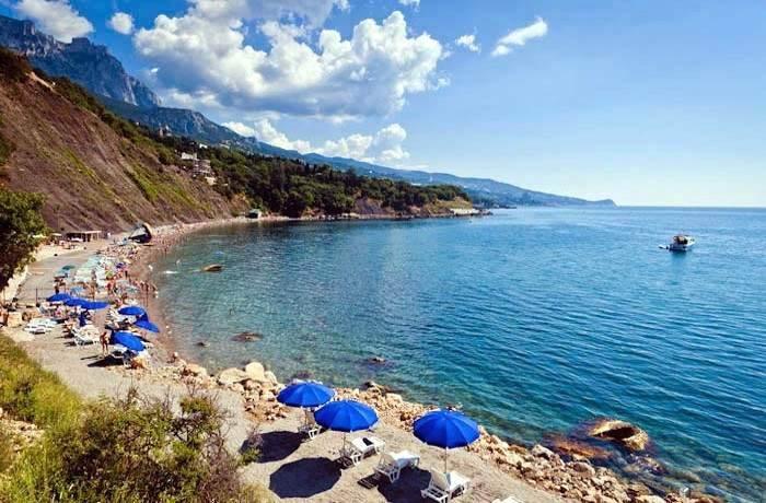 Пляж Алупки