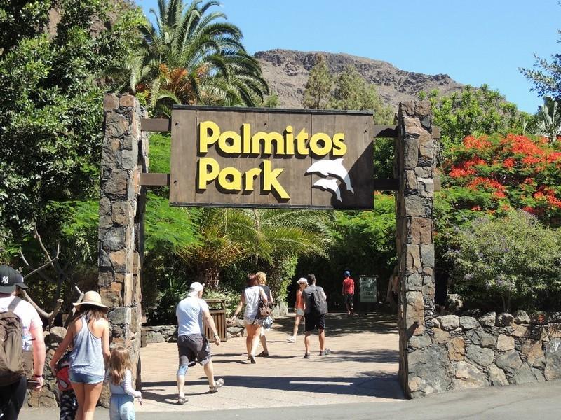 Вход в тематический парк Palmitos
