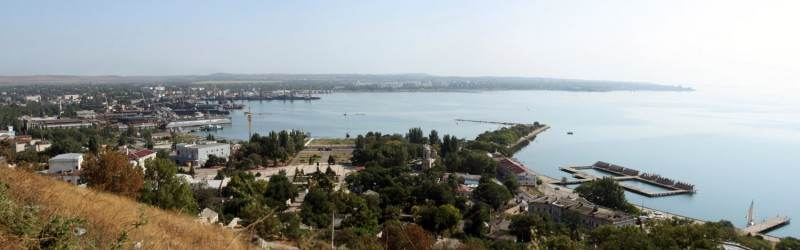 Панорама Керчи