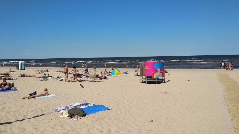 Кабинки на пляже