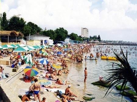 Пляжи в пик сезона