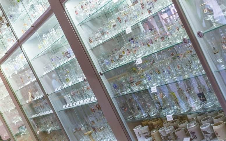 коллекция бокалов