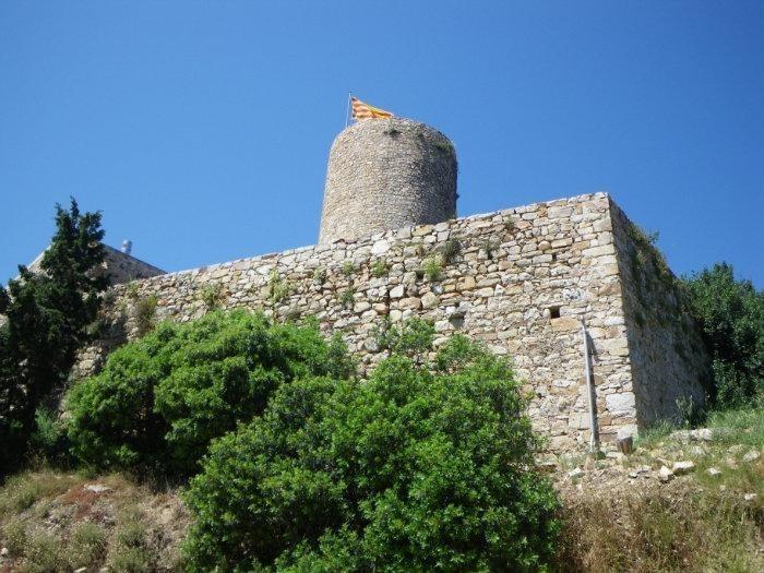 Остатки замка с башней
