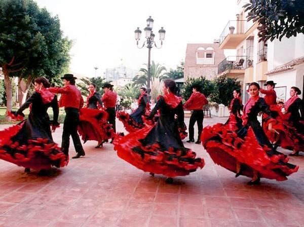 Фламенко в Испанской деревне