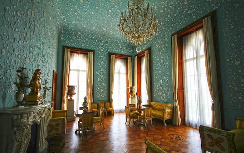 Один из залов Воронцовского дворца