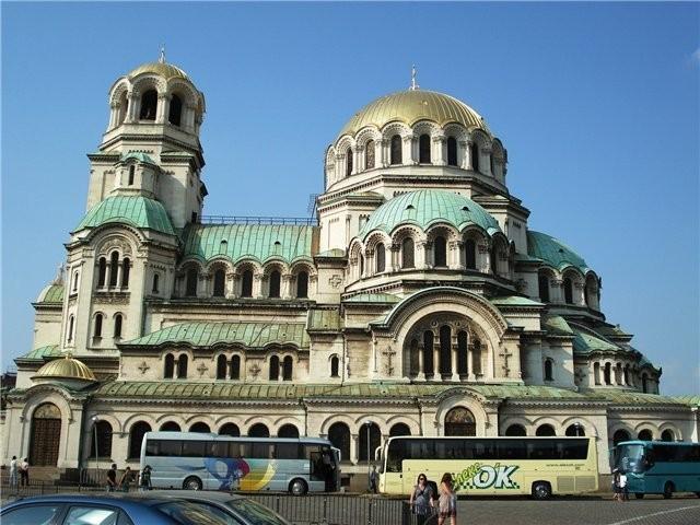 Храм-памятник Св. Александра Невского в Софии