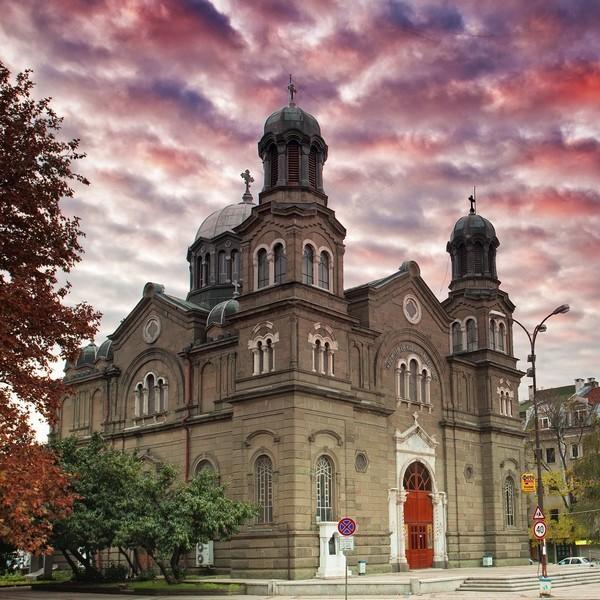 Церковь Святых Кирилла и Мефодия в Бургасе