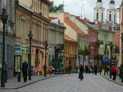 Вильнюсская улица Каунаса
