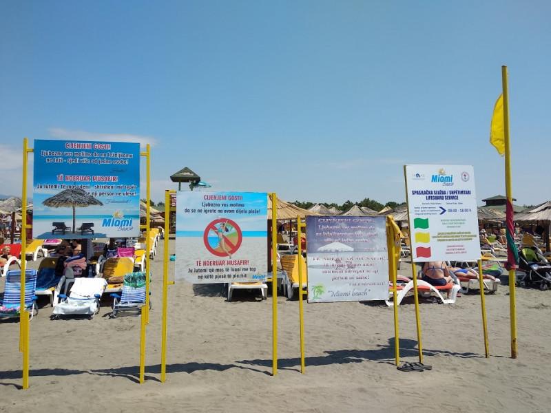 Правила пляжа: ничего нельзя :)