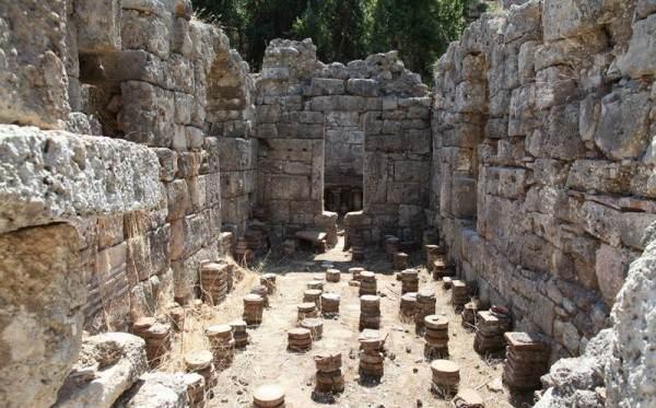 Руины города Фазелис