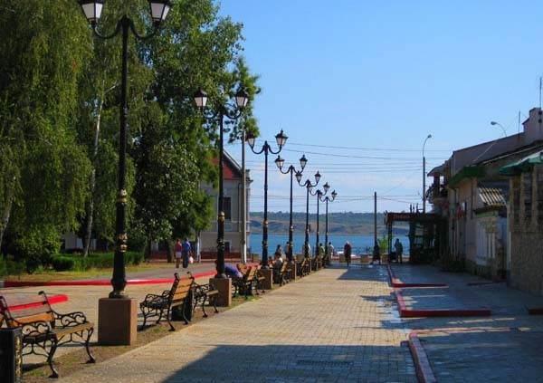 Центр города Керчь