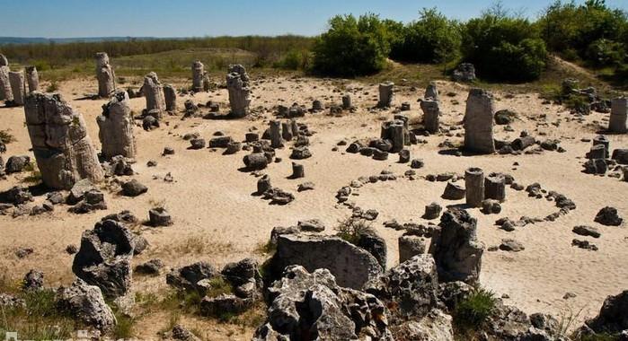 Каменный лес недалеко от Варны