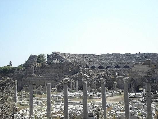 Агора в Сиде