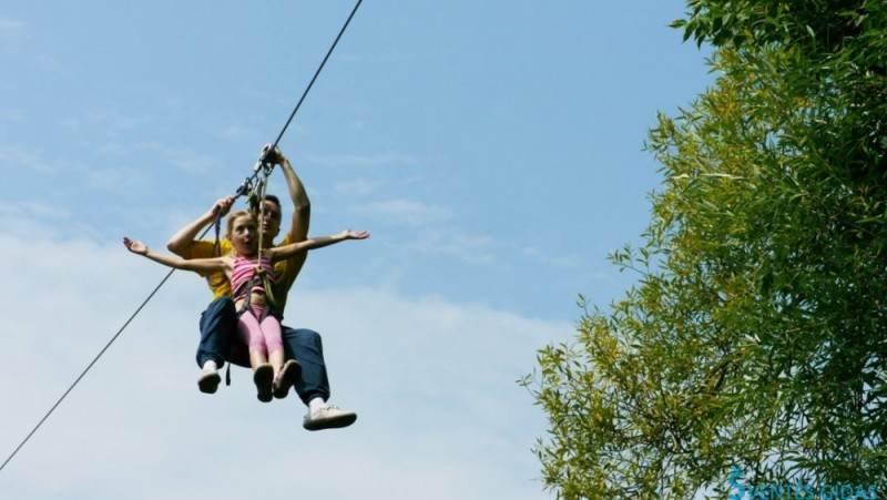 Парк развлечений Uno в Вильнюсе