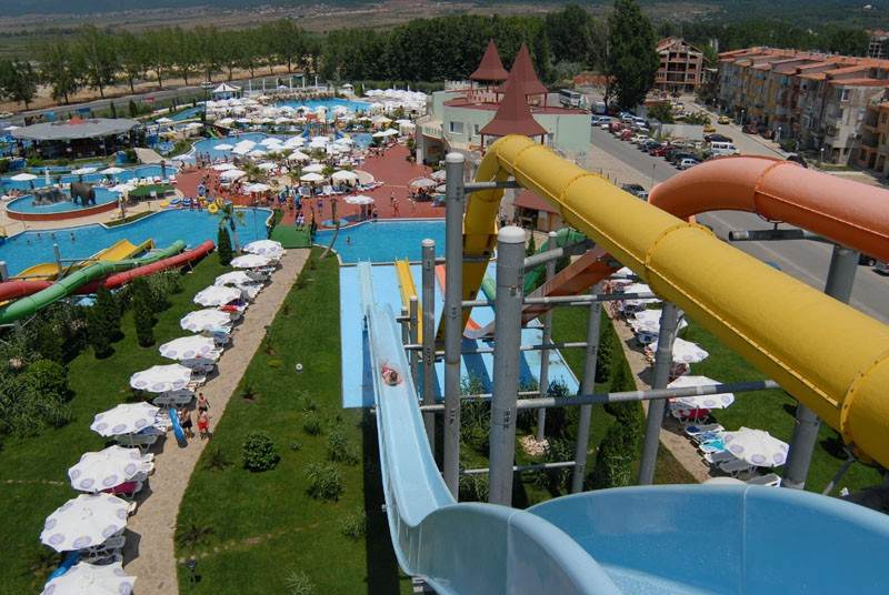Горки в Action Aquapark