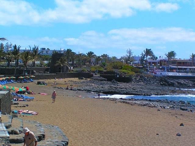 Пляж Playa Bastian