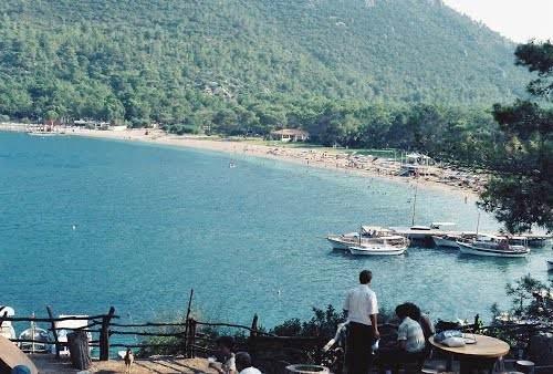 Один из пляжей кемера