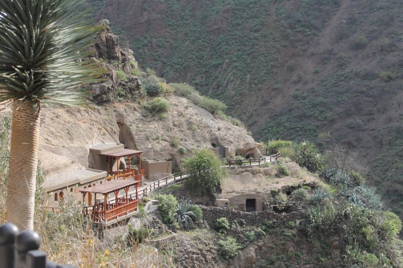 Пещеры гуанчей в ущелье Гуайядэке