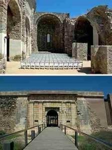 Руины церкви Санта Мария