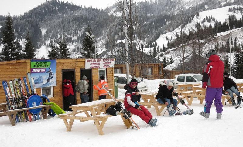 Лыжный курорт Годердзи