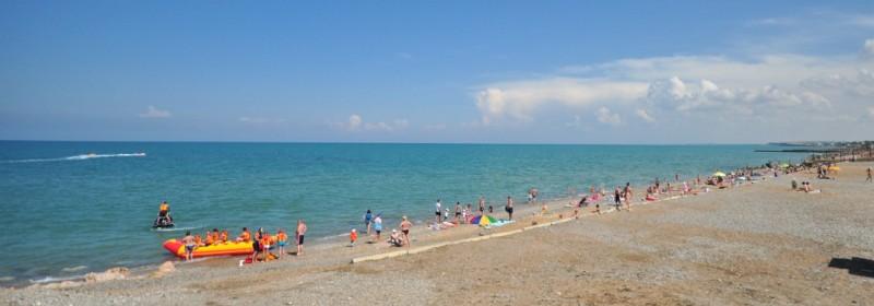 Пляжи поселка