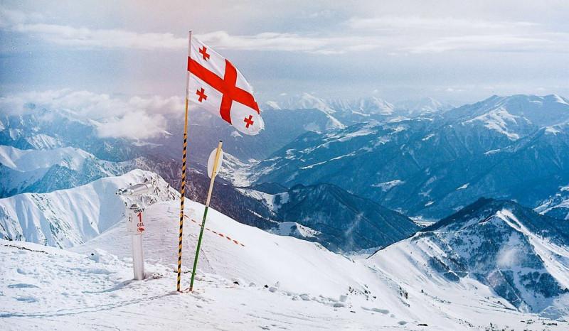 Грузинский горнолыжный курорт