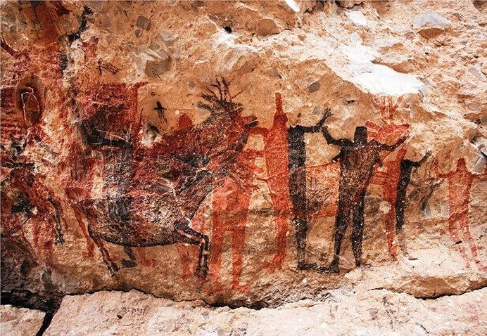 Разрисованные пещеры в музее
