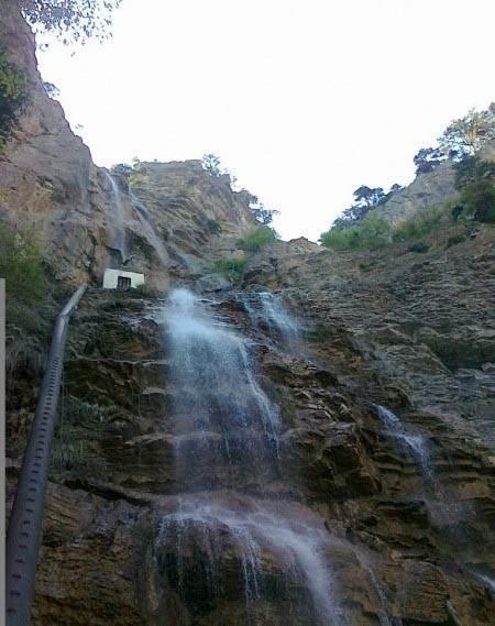 Боткинская тропа, водопад Учан-Су