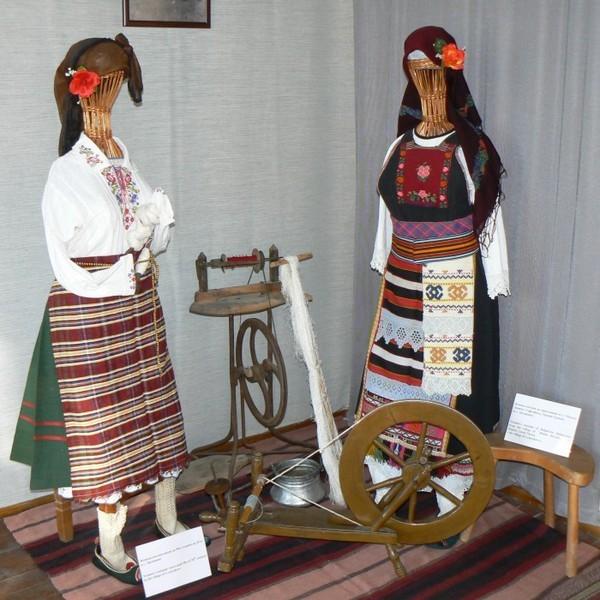 Экспозиция этнографического музея в Бургасе