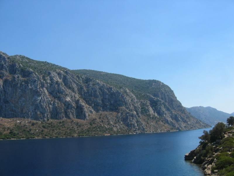 На экскурсии по эгейским островам