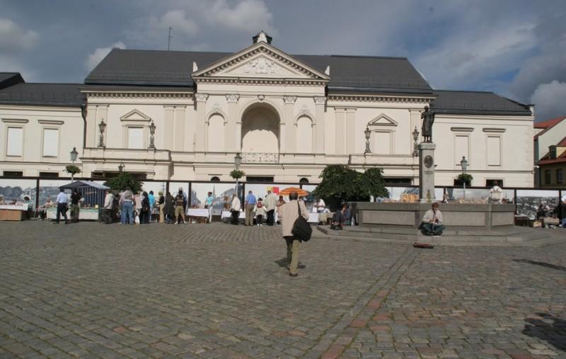 Театральная площадь в Клайпеде