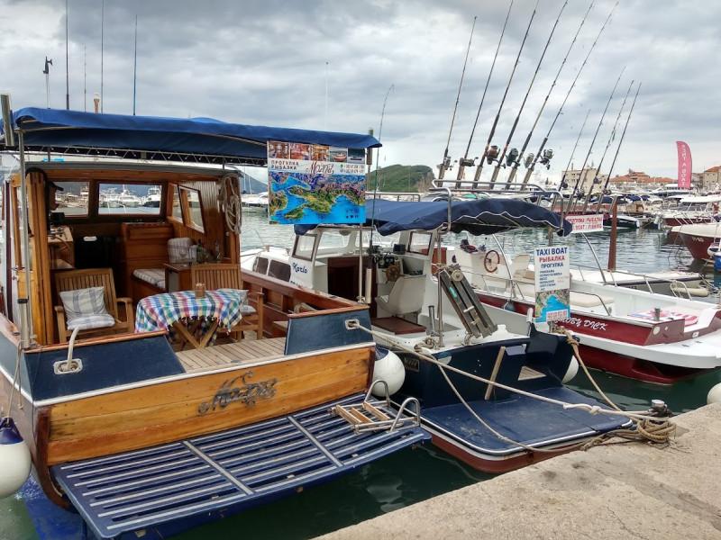 Порт Будвы (заказ прогулок и рыбалки)