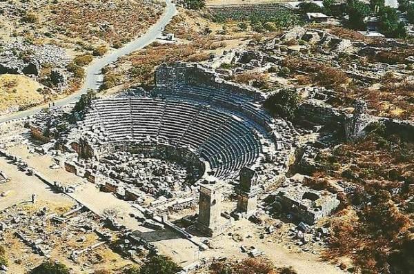 Древний город Ксанф