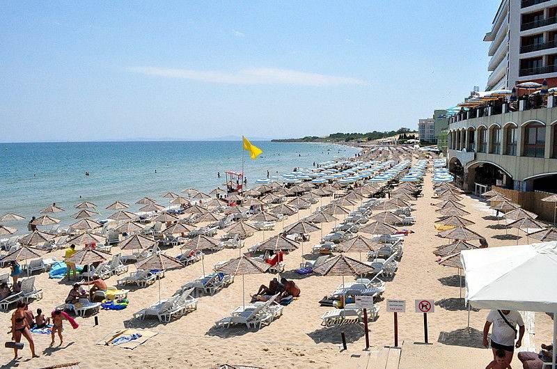 Пляжи недалеко от Несебра