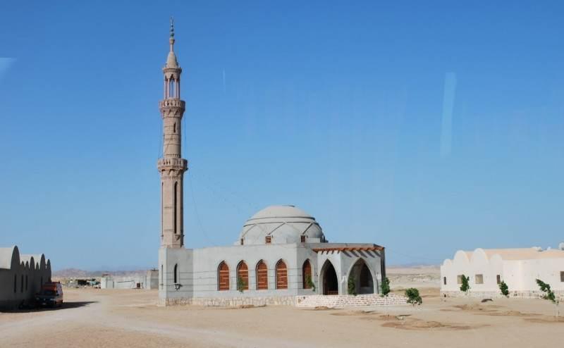 Мечеть в Марса Аламе