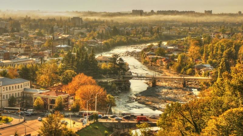 Осенний Кутаиси