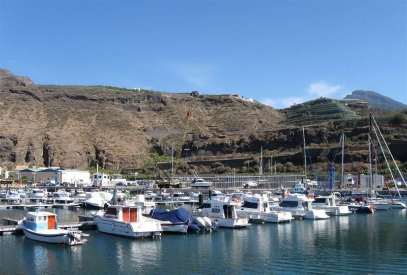 Порт в Tazacorte La Palma