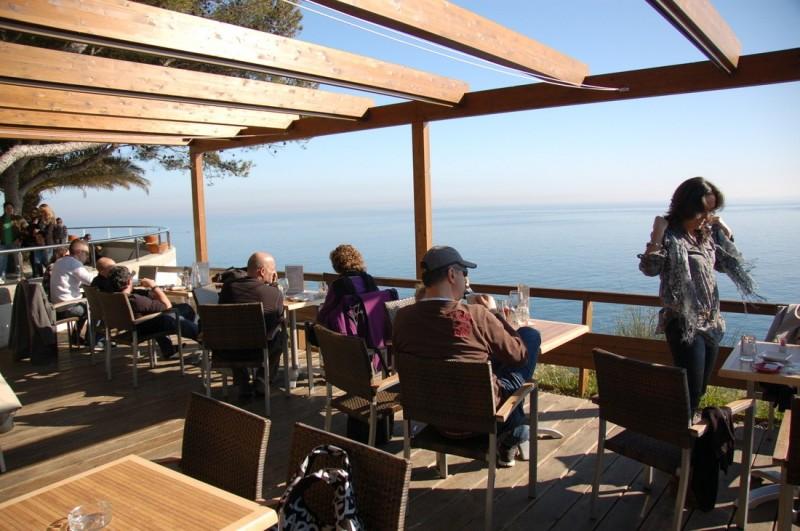 Ресторан с видом на море