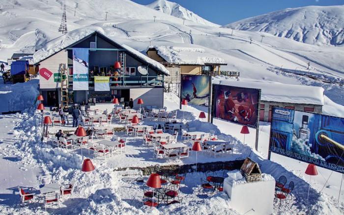 Уличные кафе в зимний сезон