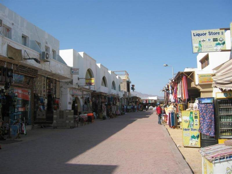 Торговые улочки города