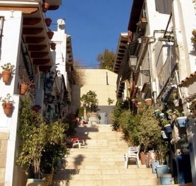 Старый город Аликанте - квартал Санта Крус