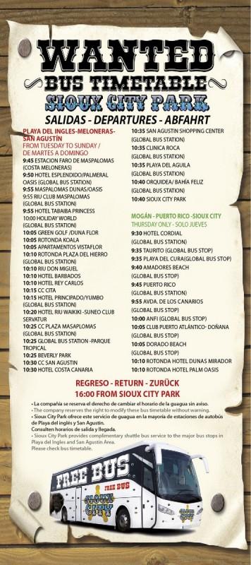 Расписание автобусов до тематического парка